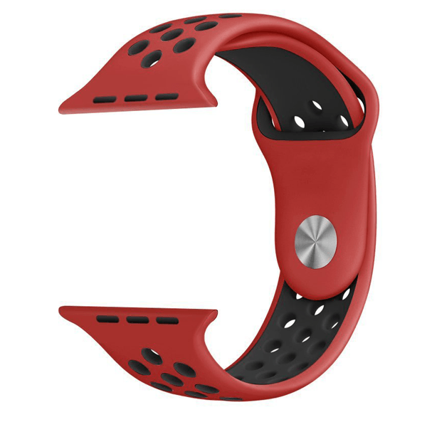 iWatch Sport Band  Classic Black & Red 42mm (Watch Not Included)