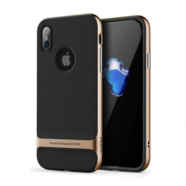 iPhone X/XS Rock® Royce Series Ultra Hybrid Protection PC + TPU Hard Case