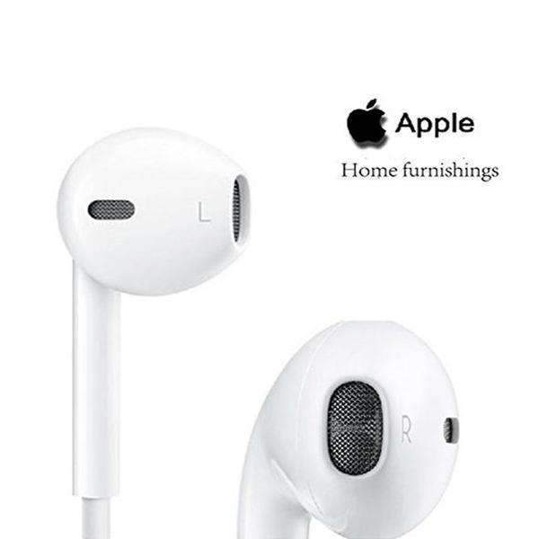 USAMS® Apple iPhone EarPods & Earphone 100% Original & Genuine With Mic and Sound Control With 6 Months Replacement Warranty