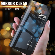 Honor 9 Lite Ultra Protection Clear view Flip Case
