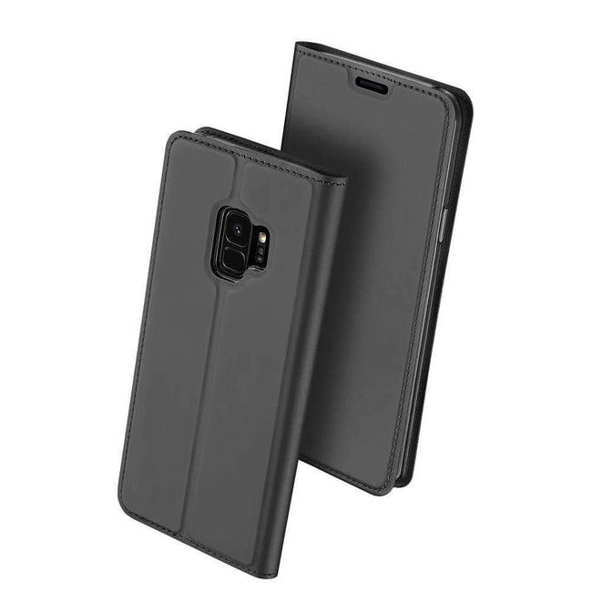 Galaxy S9 Dux Ducis® Pro Skin Series Protection Leather Flip Case