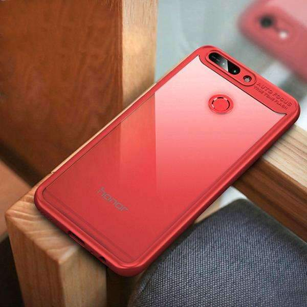 Honor 8 Pro 100% Genuine Naked Through Transparent Autofocus Hard Back Case