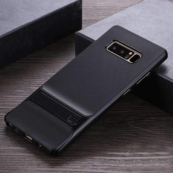Galaxy Note 8 100% Original Armor Silicon Bracket Dual Hybrid With Stand Case