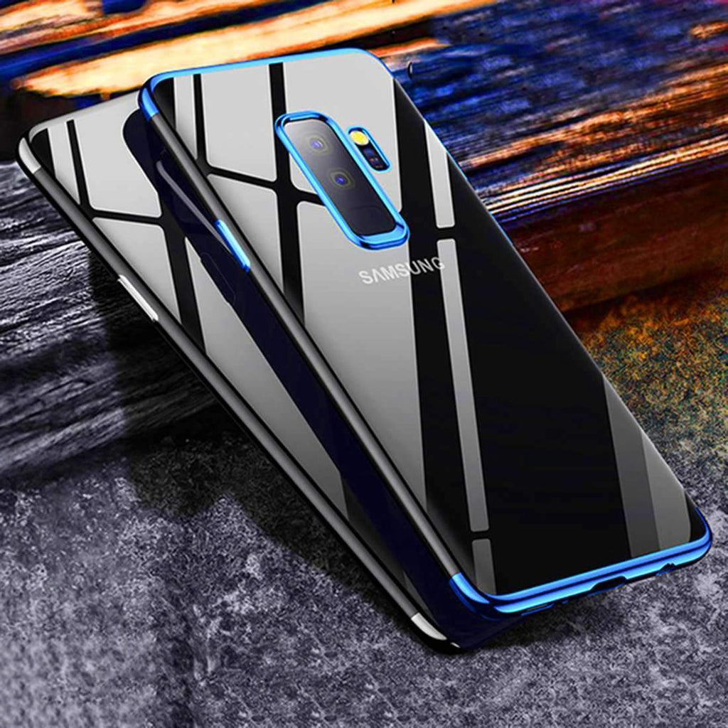 NOBLE® Galaxy S9 Plus 100% Original Transparent Gillette Hard Case