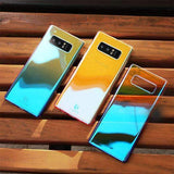Galaxy Note 8 Ultra Slim Aurora Gradient Luxurious Glaze Case