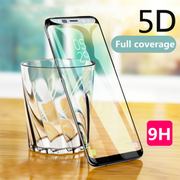 Galaxy J8 Original 5D Curved Tempered Glass