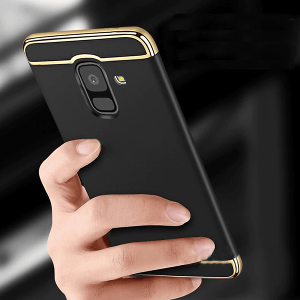 Galaxy A6 3in1 Shockproof Armor Ultra Protection Case