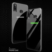 Galaxy M30 Radium logo Glow Light Illuminated Back Case