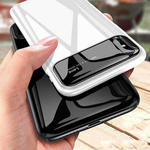 iPhone X Luxurious Ultra Protection Thin Glossy Mirror Effect Case