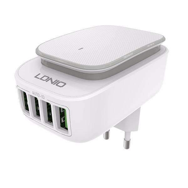 LDNIO A4405 4-Port USB Wall Charger Adapter