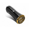 Pivoful PCC-400 USB Car Charger in Black Color
