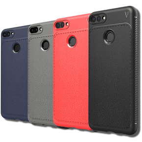 Honor 7C Ultra Protection Leather Touch Case