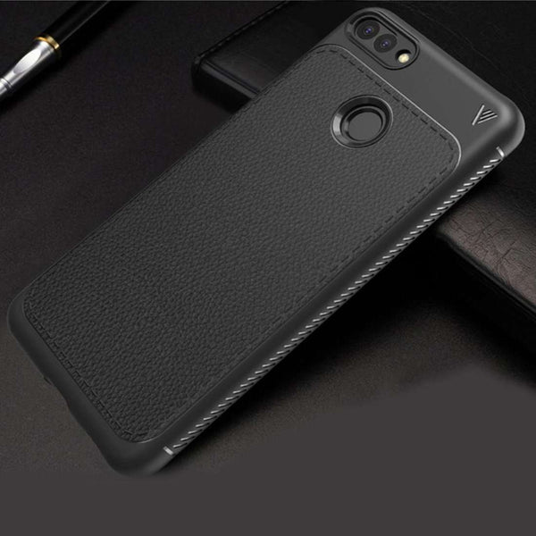 Honor 7A Ultra Protection Leather Touch Case