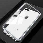 iPhone 8 Plus Electronic Auto-Fit Magnetic Aluminium Ultra-Thin Back Cover