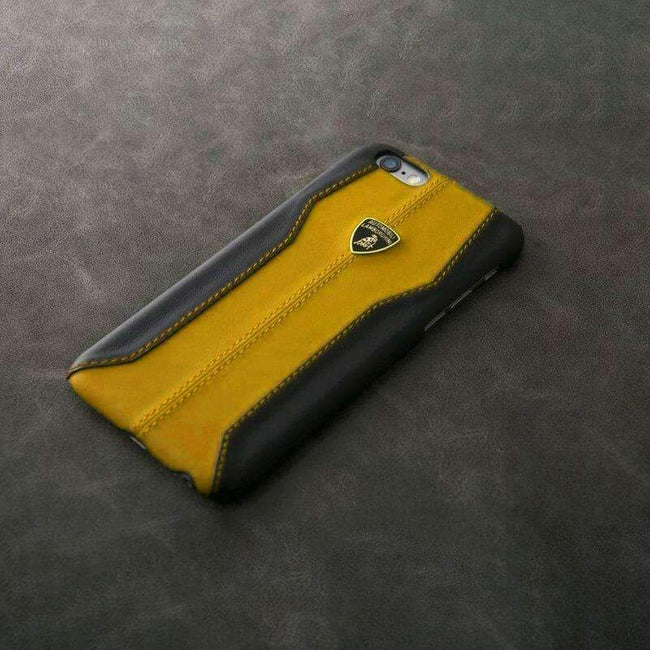 iPhone 7 Genuine Leather Lamborghini 100% Original Case