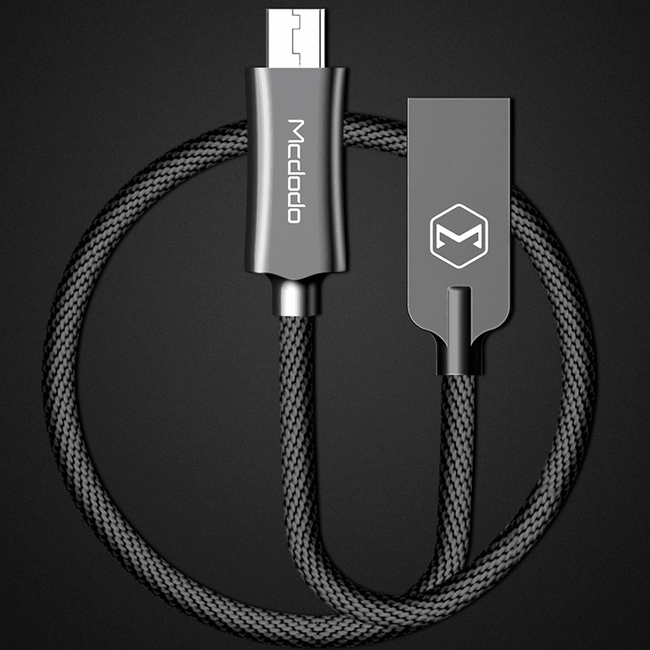 MCDODO Type C auto disconnect  USB Data Charging Cable
