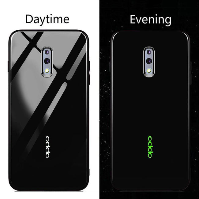 Radium logo Glow Light Illuminated Case (Glow in the Dark) For Oppo Reno