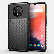 OnePlus 7T Shockproof Soft Silicon Fashion Square TPU Case
