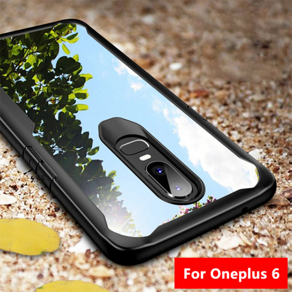 OnePlus 6 Eagle Shockproof Transparent Hard Back Case