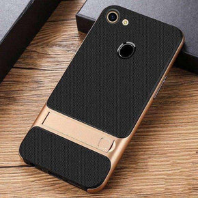 Oppo F5 Dual Hybrid With KickStand Hard Case