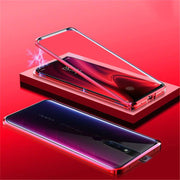 OPPO F11 Pro Electronic Magnetic Wireless Edition Aluminium transparent Back Case