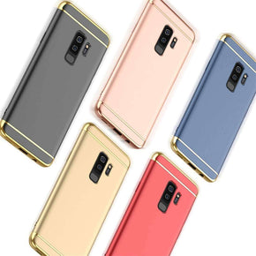 Xiaomi Poco F1 3in1 Electroplating TPU Ultra Protection Hard Back Case