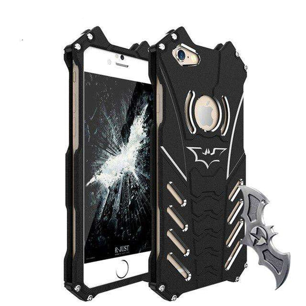 iPhone 8 R-Just Batman Armor Luxury Ultra High Protection Metal Aluminum Case