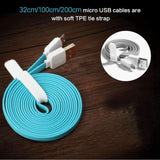 Rock® 100% original Android Safe Charge High Speed Data Cable