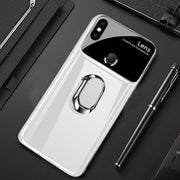Redmi Note 5 Pro Polarized Mirror Effect Lens Ring Back Case