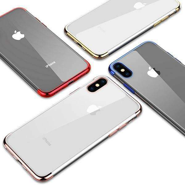 iPhone X Baseus® Hard Transparent Ultra Protection Light Weight Cover Case