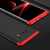 Samsung Galaxy Note 8 360° Dual Armor Full Protection Hybrid Hard Case (Black & Red)
