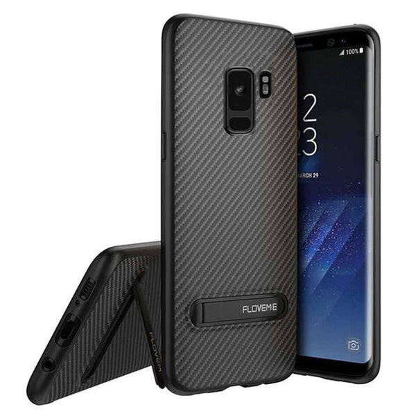 Galaxy S9 TOTU® Carbon Slim Series Fiber Back Case