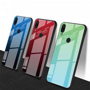 Redmi Note 5 Pro Tempered Glass Cool Rainbow Effect AURORA Case