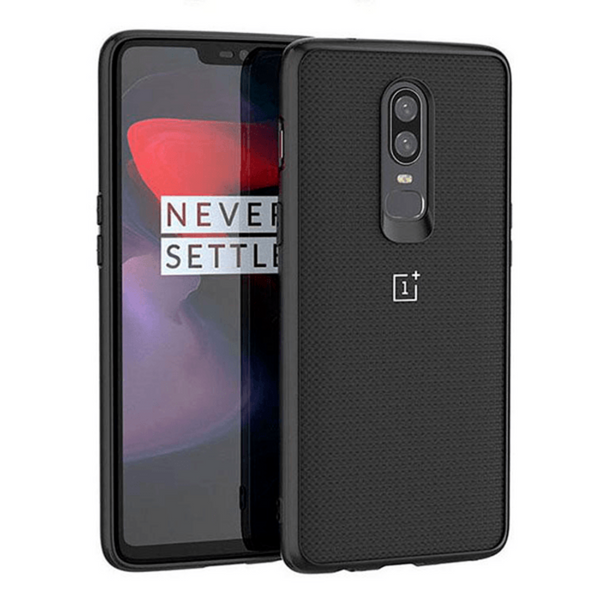 OnePlus 6 100% Original Carbon Fiber Knitted Hard Back Case
