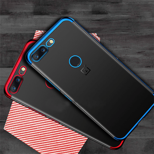 OnePlus 5 100% Original Naked Through Luxury Ultra-Thin Soft Silicon Case