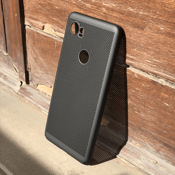 Google Pixel 2 XL Luxurious Heat Dissipation TPU Black Case