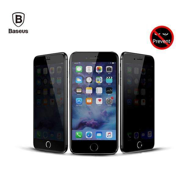 Baseus® 100% Genuine Anti Spy Privacy Specialist HD Tempered Glass For iPhone 7/7 Plus