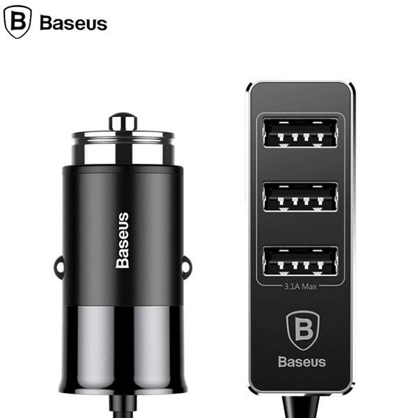 Baseus® 5.5A 4 Ports USB High Speed Fast Quick Smart Car Chargers