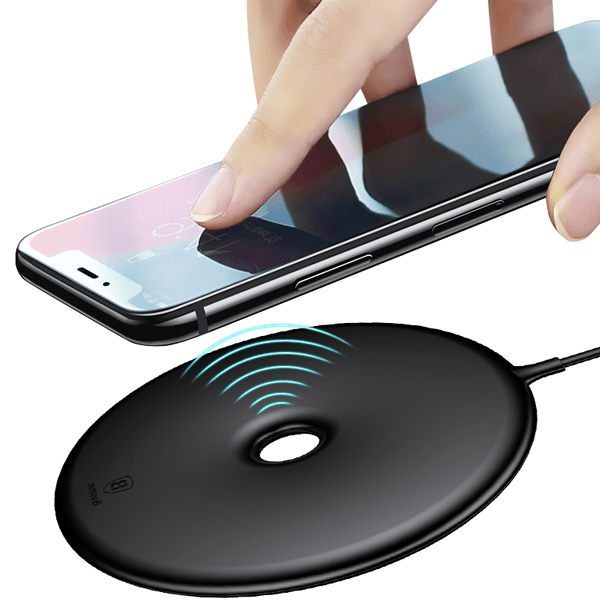 Baseus® Ultra Fast Wireless Donut Charger For Qi Enabled Devices
