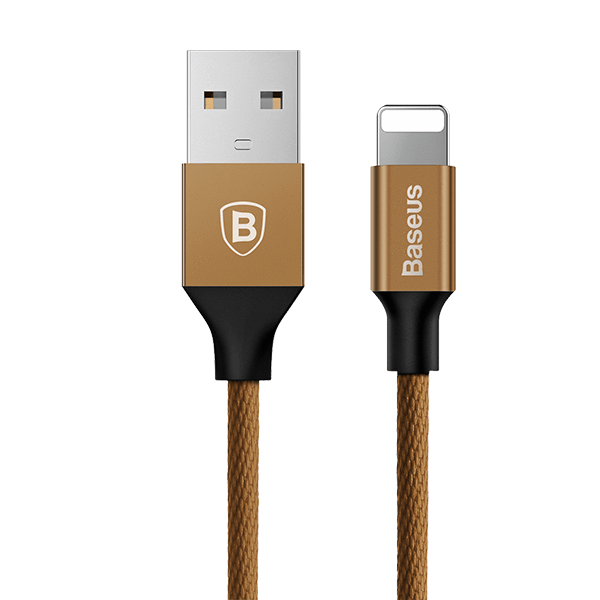 Baseus Yiven iPhone 100% Original Product 300 CM USB Charger Cable (Coffee)