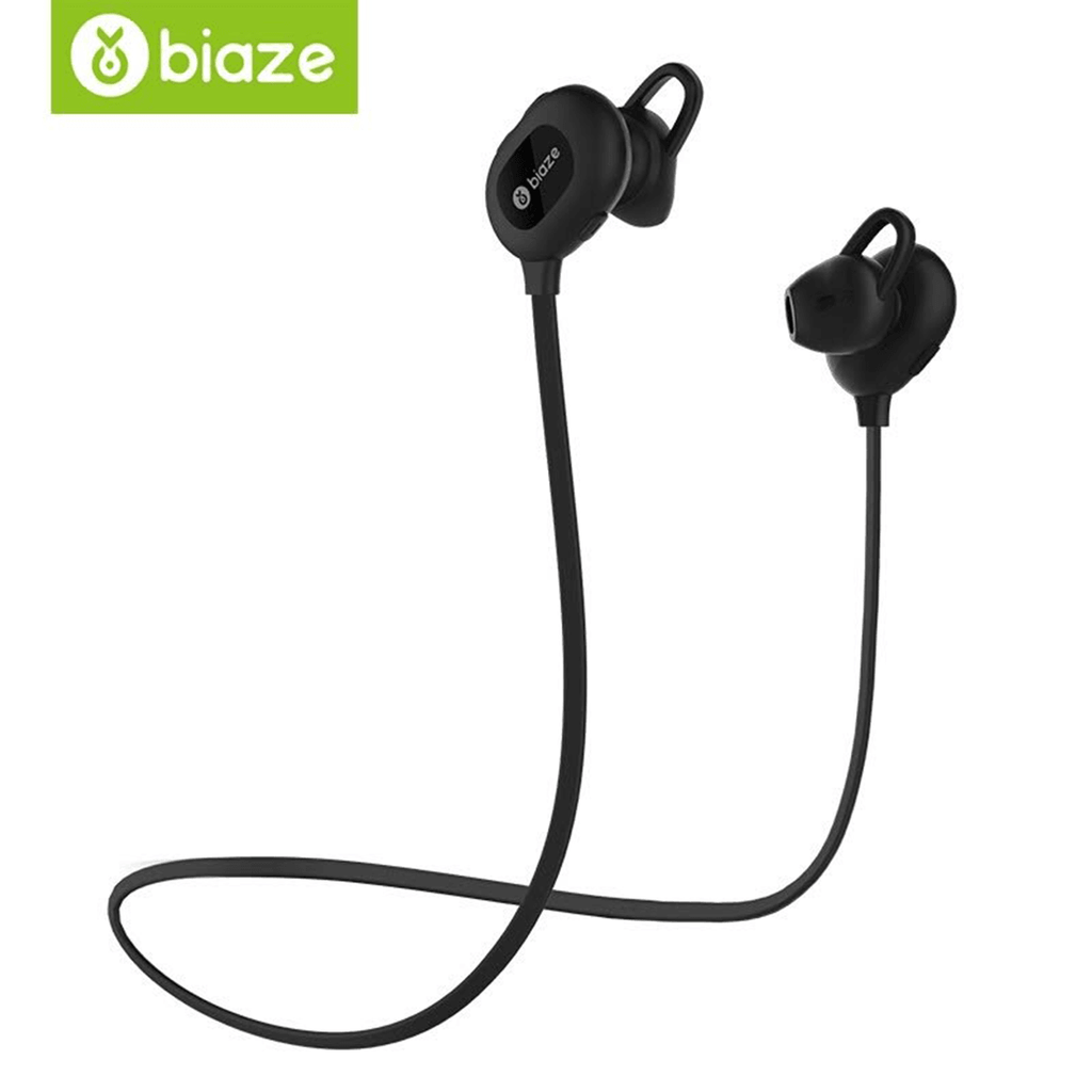 BIAZE Sports Bluetooth Headset Music Headset In-Ear Headphones With Bluetooth 4.1
