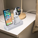 COTEETCI® 3in1 Aluminum Charger Dock Station for Apple iPhone, Watch & Earpods