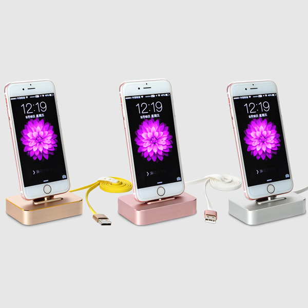 COTEETCI® Aluminium Stand Mount Base Dock Charging Station For All iPhone Models
