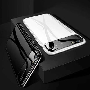iPhone 8 Lens Thin Glossy Mirror PC Effect Case