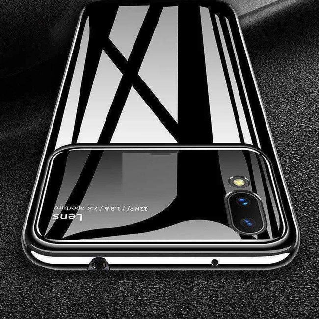 iPhone XS Max Henks® Luxurious Ultra Protection Mirror Effect Lens Case