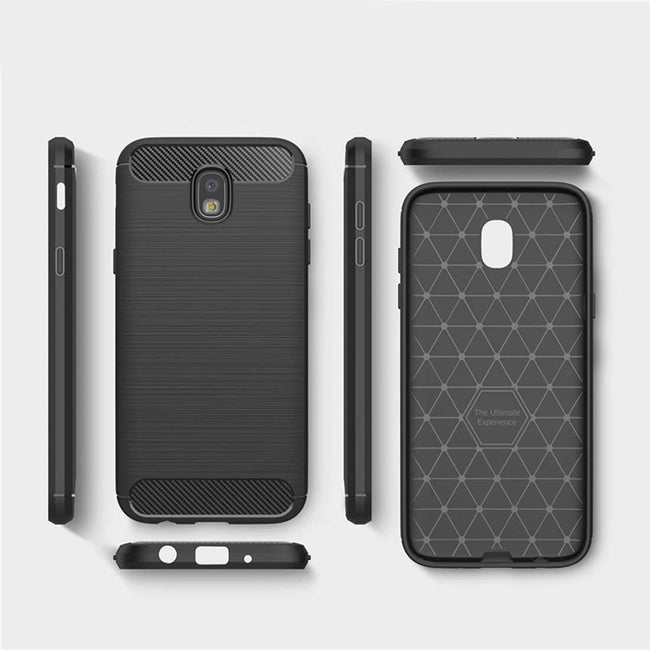 Galaxy J7 Pro Ultra Protection Brushed Silicon Case