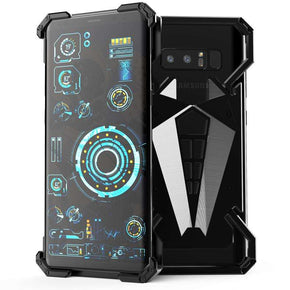 Galaxy Note 8 R-Just Spiderman Series Armor Metal Ultra High Protection Case