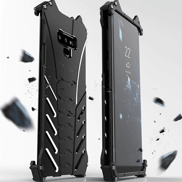 Galaxy Note 9 R-Just® Batman Series Shockproof Metal Case