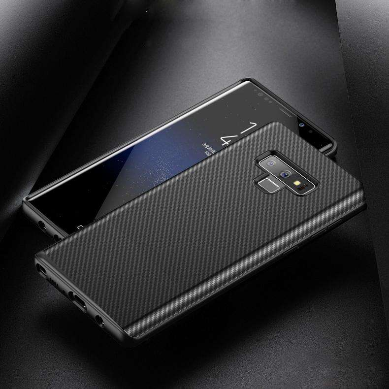 Galaxy Note 9 Ultra Protection Carbon Fiber Shell Case