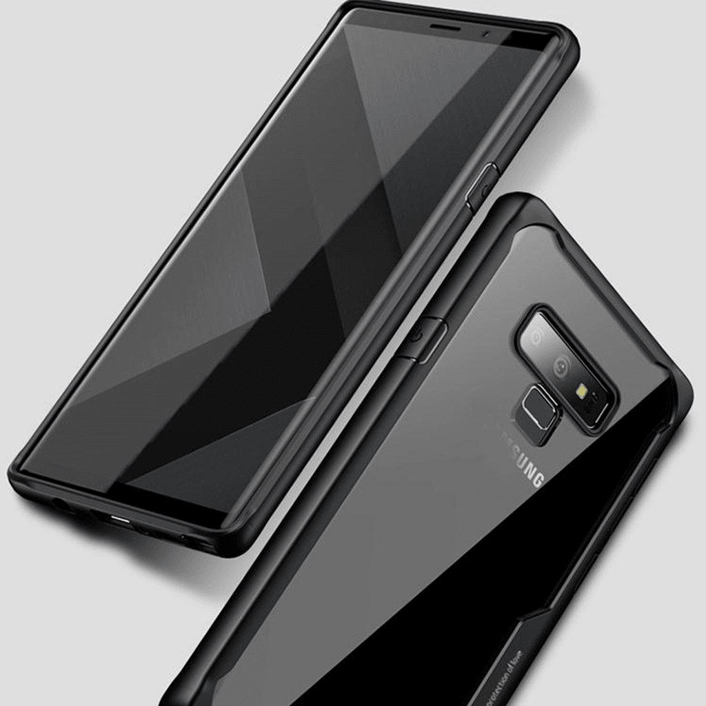 Galaxy Note 9 Shockproof Transparent Eagle Case